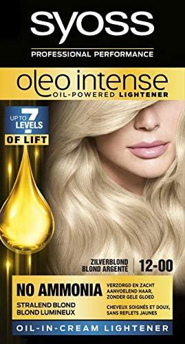Syoss Color Oleo Intense 12-00 - Tinte para cabello (1 unidad ...