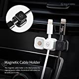 Sinjimoru Magnetic Cable Clips, Multipurpose Cable