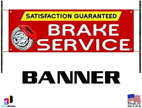 A//C Repair Service Red Auto Car Repair Shop Vinyl Banner Sign With Grommets
