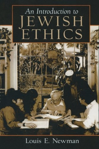 Cover of Introduction to Jewish Ethics