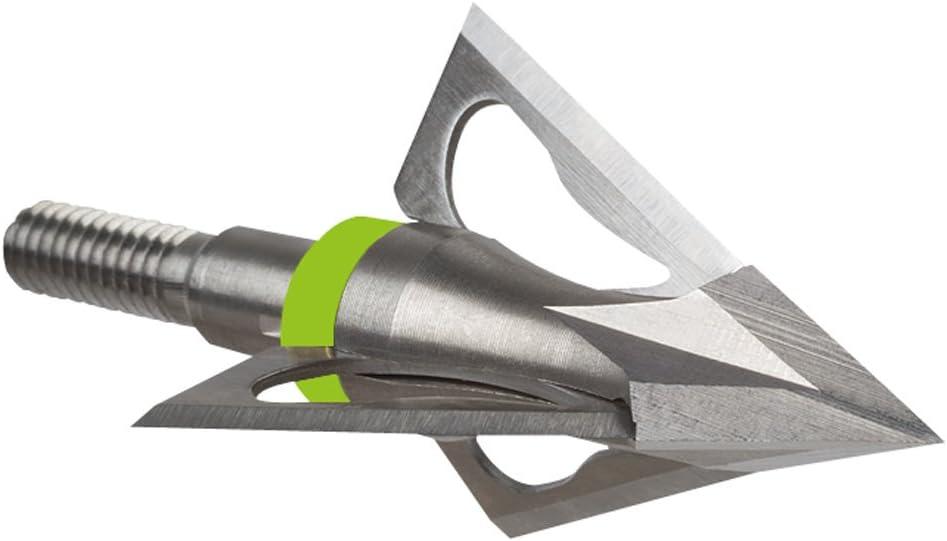 3 Pk Stryker Accu-Chisel Broadhead 100 Gr Silver