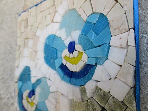 Forget Me Not Flower - Mosaic craft kit for adults - Marble & Murano ...