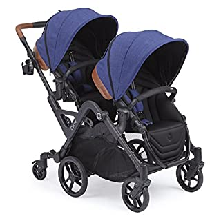 Whether cruising through the burbs or sightseeing in the city, the Contours Curve makes strolling with two a breeze. Its unique 6-wheel design makes steering and turning as easy as a single stroller. Specifically engineered to perform with the weight...
