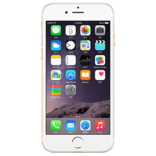 Apple iPhone 6 Plus Unlocked Cellphone, Gold, 16 GB