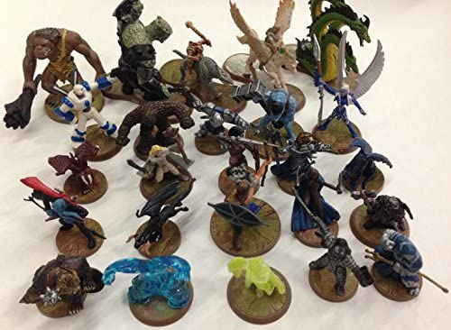 Dungeons & Dragons Minis - 25 Surtido de D & D Heroscape figuras ...