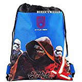Disney Star Wars Authentic Licensed Drawstring Bag Backpack (Blue) For Sale