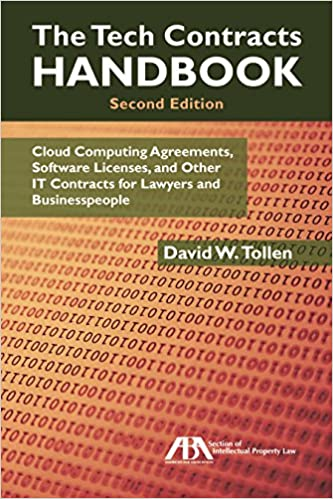 Amazon The Tech Contracts Handbook Cloud Computing Agreements