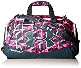Under Armour Undeniable Duffle 2.0 Gym Bag, Ballet Pink /Stealth Gray, Medium