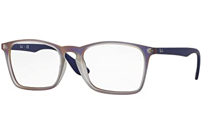 b3c1e47061c Amazon.com  Ray-Ban Eyeglasses RX7045 5486 Violet Iridescent 53 18 ...