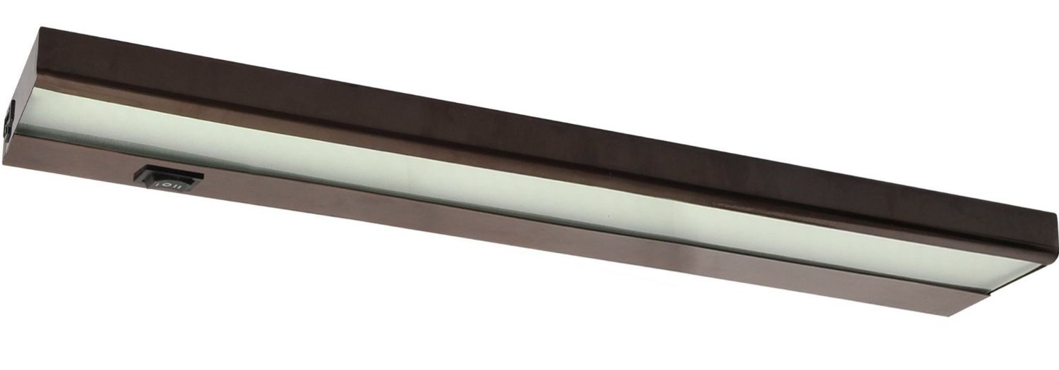 33'' 120v Direct Hard Wire Capable Led Inch Light Linkable Under Cabinet Bronze by Amax