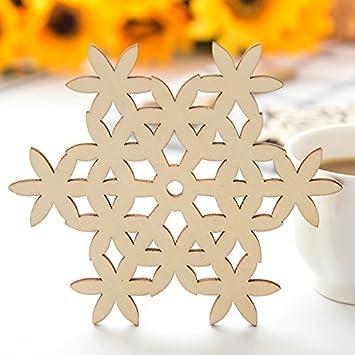 CWAIXX Cojín del aislamiento casero simple Alfombra de nieve Evitar planchar estera de tabla Portavasos de madera alfombras de recipiente junta placa, ...