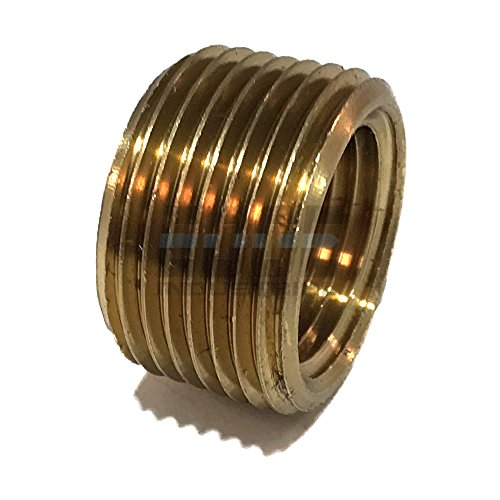 EDGE INDUSTRIAL BRASS REDUCING FACE BUSHING 3/4
