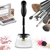 Mousand Makeup Brush Cleaner Dryer Tool Electric Machine Spinner Kit 360 Degree Rotation Upgraded Automatic Portable Washing Device Professional for All Size