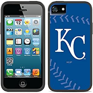 Coveroo iPhone 5/5S Black Switchback Case with Kansas City Royals Stitch Design