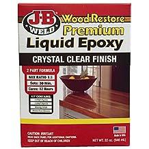 J-B Weld 40002 Wood Restore Premium Liquid Epoxy Kit - 32 oz.