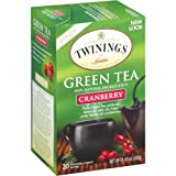 Twinings Cranberry Green Tea Box, 40 Count For Sale