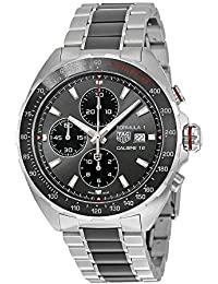 Men's 'Formula 1' Swiss Automatic Stainless Steel Dress Watch, Color:Silver-Toned (Model: CAZ2012.BA0970)