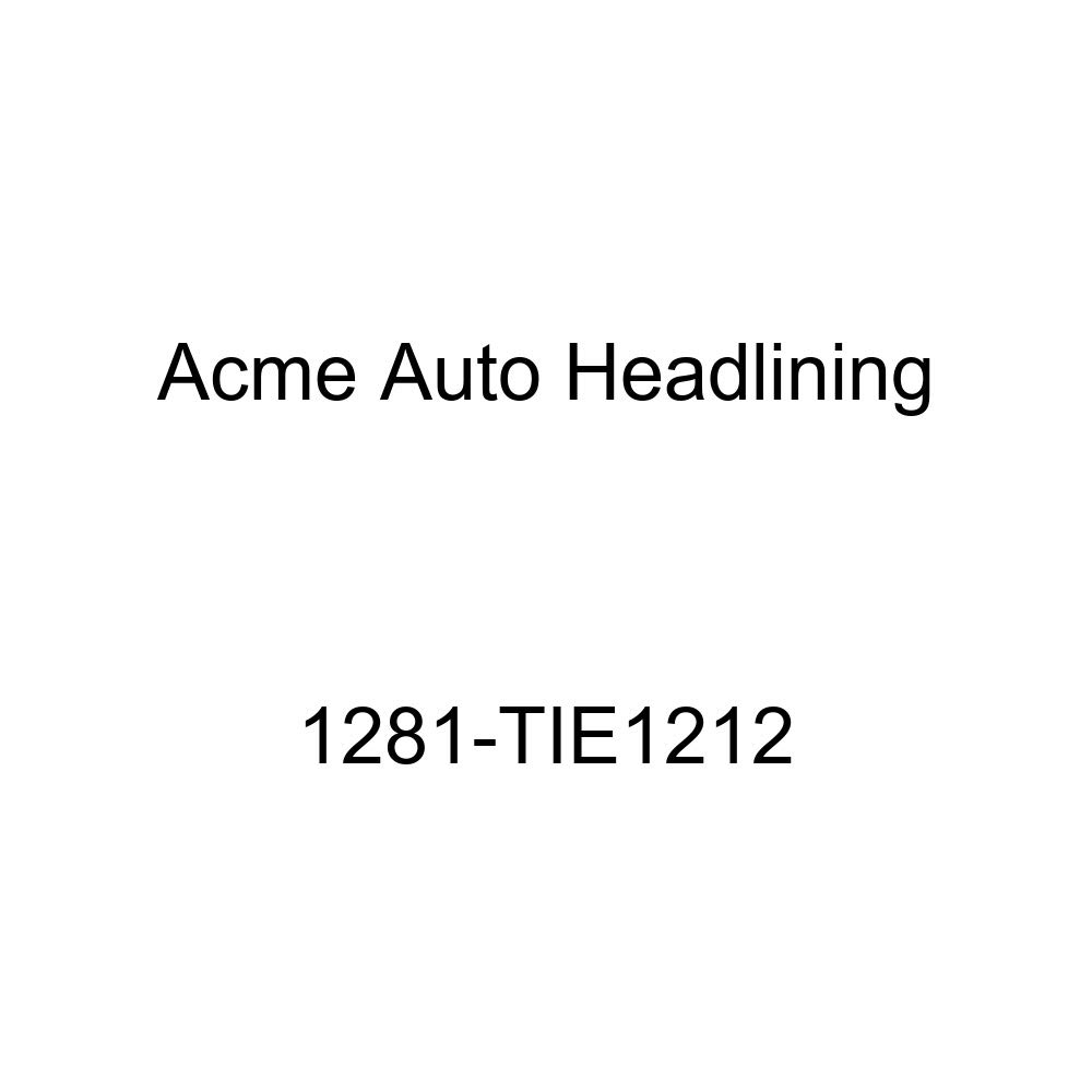 Acme Auto Headlining 1281-TIE1212 Dark Blue Replacement Headliner 1958 Oldsmobile Dynamic /& Super 88 2 Door Sedan 8 Bows