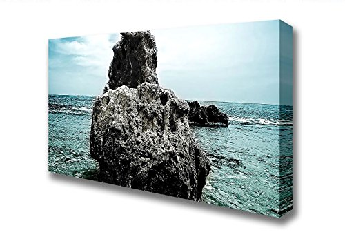 Amplia Big Rock Denia Beach Spain - Lienzo decorativo Art ...
