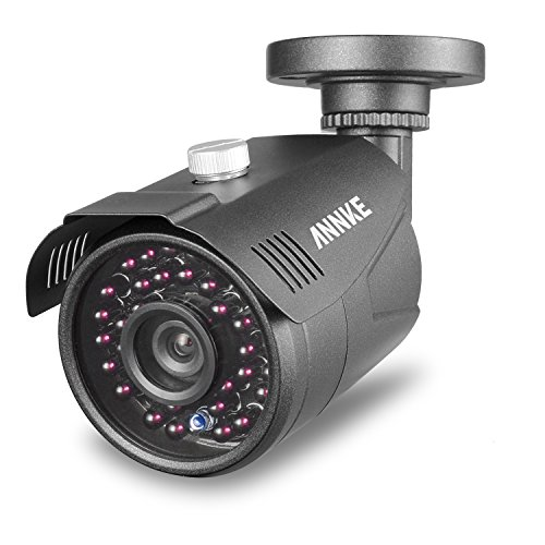 ANNKE HD-TVI 1.3MP Video Security Camera with IP66 Weatherproof Housing and Long-Range IR Night Vision LEDs
