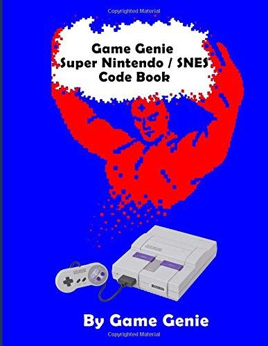 Game Genie Super Nintendo / SNES Code Book