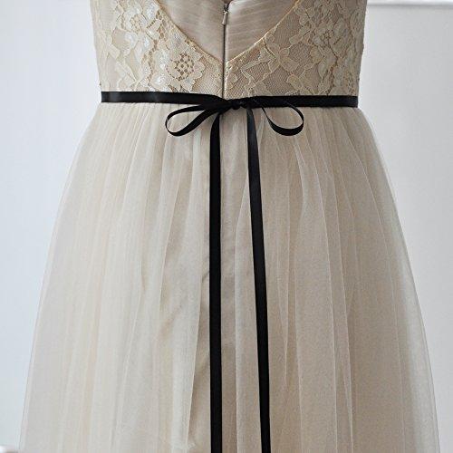 Dress Stunning S217 Azaleas Belts Sash Wedding black Women's Crystal npwAOqAB5