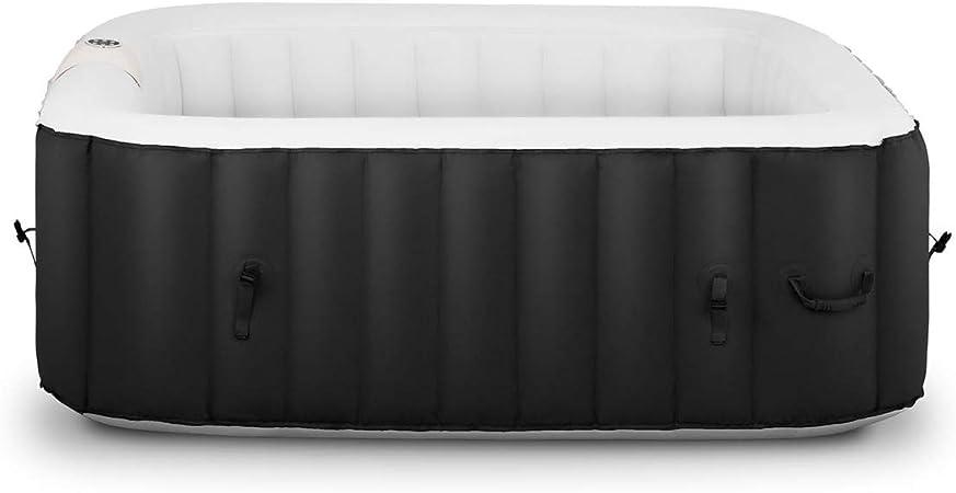 Uniprodo SPA Hinchable Piscina De Hidromasaje Uni_Pools_02 (600 litros, 100 Salidas De Aire, Temperatura Máxima: 42 °C, 4 Personas)