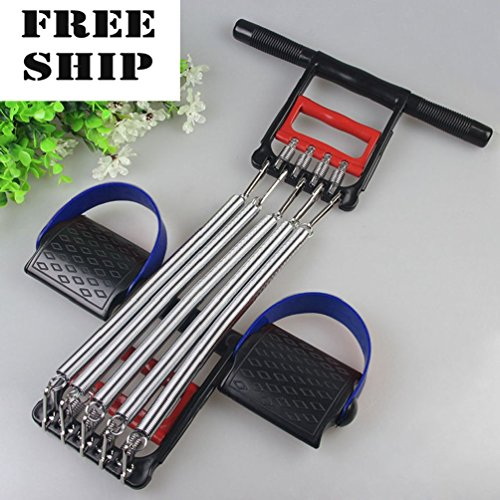 Price comparison product image 5 Spring Chest Expander Exercise Fitness Strength Training Adjustable Resistance