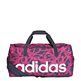adidas Women's Linear Duffel Bag, Real Magenta/Legend Ink/White, M