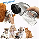 Malloom Aspirador eléctrico para pelos de Mascotas Gato Perro Mascota Removedor de Piel para el Pelo