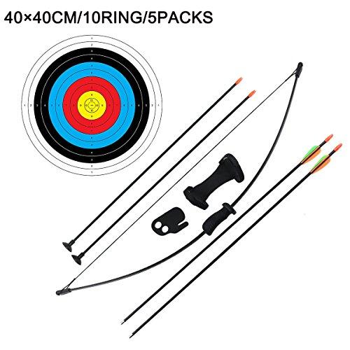 ddf5d6c54 30%OFF Al aire libre Youth con arco y flecha Set Niños Junior tiro con arco  formación juguete para ...