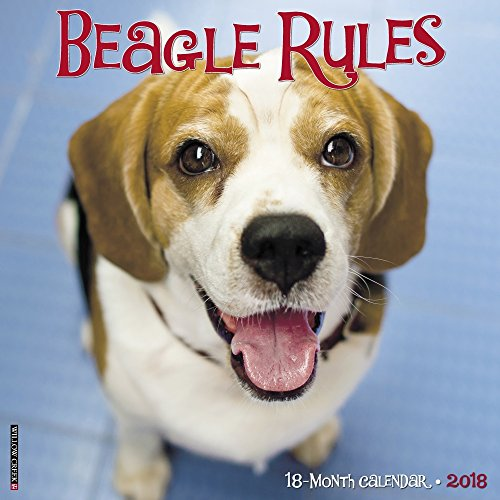Beagle Rules 2018 Calendar