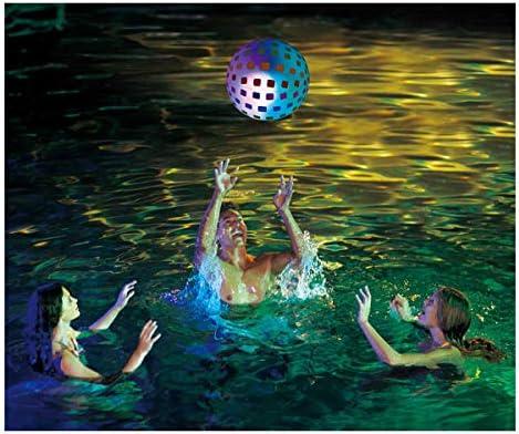 Cisne 2013, S.L. Pelota Hinchable con luz LED para Playa o Piscina ...