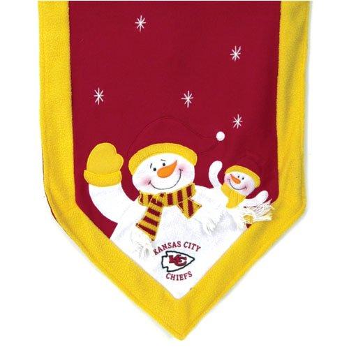 (SC Sports Kansas City Chiefs Snowman Table Runner )