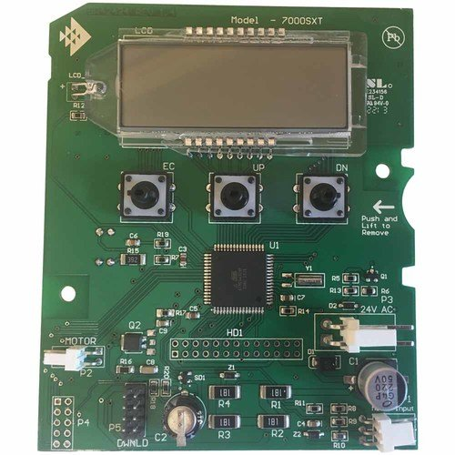 (Replacement Circuit Board w/ Display for Fleck 7000SXT Control Valve (Part# 61696))