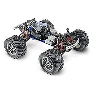 Traxxas T-Maxx Classic: 1/10-Scale Nitro-Powered 4WD Monster Truck with TQ 2.4GHz radio, Black