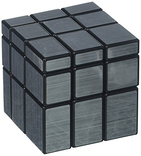 ThinkMax Silver Black Mirror Cube - Silver Black Mirror And