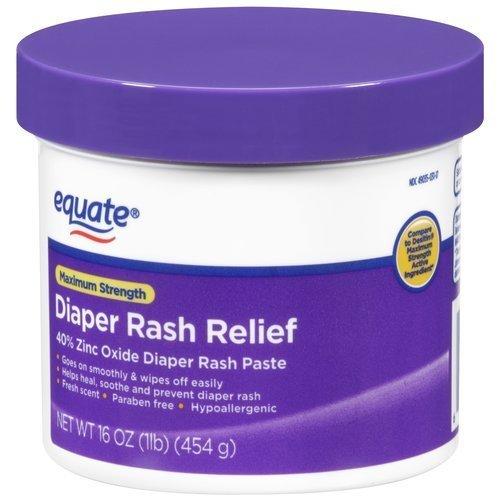 Equate Maximum Strength Diaper Rash Relief, 16 oz by Equate