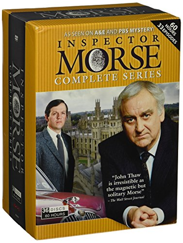 Inspector Morse Collection Complete Series 36 DVDs 3600 Minutes + 3 Bonus Specials