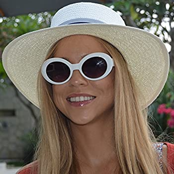 made in Spain Acapulco White hat Straw hat