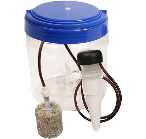 Reptiles Fuente para Beber, 1300 ml Filtro de Agua para Reptiles, Filtro de Agua Sistema de Goteo Humidificador dispensador para camaleón Lagarto Gecko: Amazon.es: Productos para mascotas