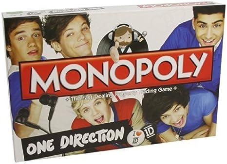 Monopoly One Direction Juego de Monopolio: Amazon.es: Juguetes y juegos