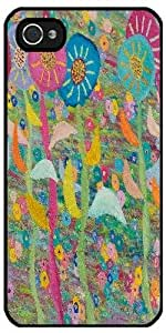 Case for Iphone 4/4S - Cheerful Flowers by ruishername