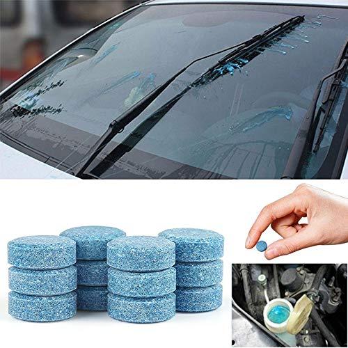 Solid Car limpiaparabrisas Limpiador de vidrio de alto rendimiento automático de limpieza de la ventana Material azules 5pcs duradero Solid Car ...