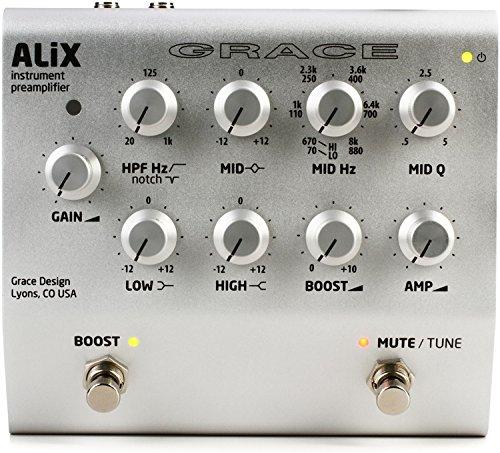 - Grace Design ALiX Acoustic Instrument Preamp/EQ/DI/Boost Pedal