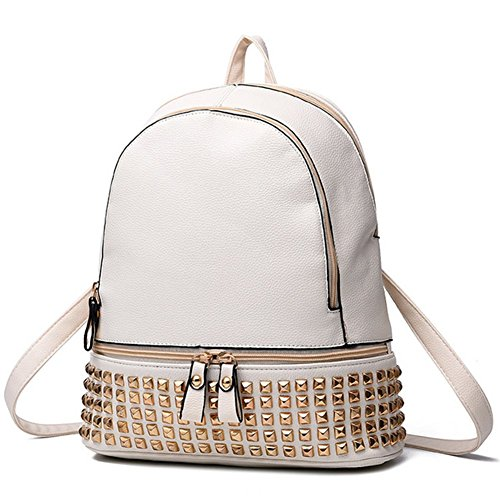 CherryGoddy-A The New Rivet Shoulder Bag zipper Bag Travel Bag - Tory Burch Cheapest