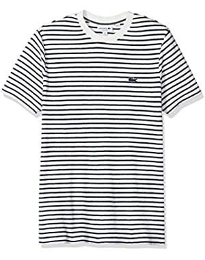 Men's Short Sleeve Reg Fit Blue Pack Striped French Terry Tee