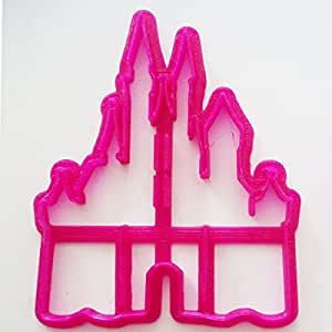 Princess Castle Fondant / Cookie Cutter For Cake Decorating icing Fondant