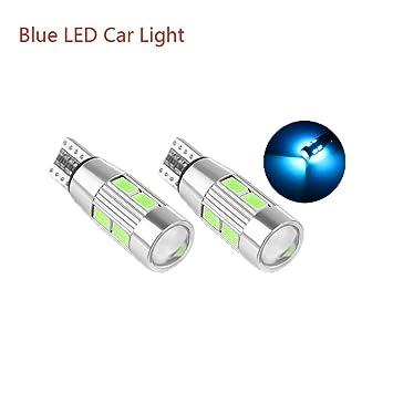 2 bombillas LED para coche T10 194 W5W Canbus 10 SMD 5630 LED para luz lateral de coche: Amazon.es: Coche y moto