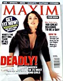Maxim Magazine Jan/Feb 1998 Famke Janssen